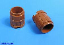 LEGO Tonneau/marron BARILS/2 pièces