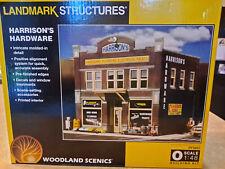 WOODLAND SCENICS LANDMARK STRUCTURE HARRISON'S HARDWARE O SCALE BUILDING KIT
