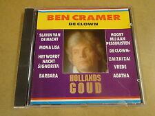CD / BEN CRAMER - DE CLOWN