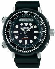 Seiko SNJ025P1 Arnie Prospex 47.8mm Black Round Case Black Silicone Watch