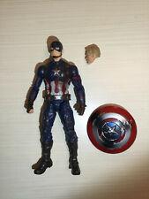 Marvel legends Capitán America figura 15 cm
