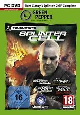 Splinter Cell - Complete [Green Pepper] von ak tronic | Game | Zustand gut