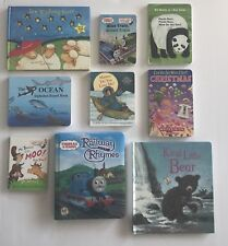 Lot of 9 Board Toddler Hardcover Picture DayCare Kid Child Books - MIX UNSORTED