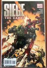 Siege: The Cabal #1 One Shot David Finch Cover Marvel Comics Nm