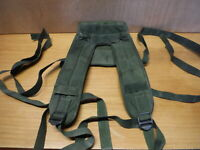 British forces PLCE Olive green webbing yoke (e6)