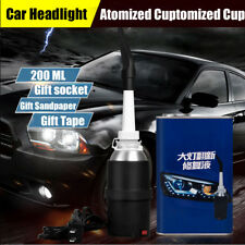 Car Headlight Lens Restoration Cup Professional Restorer Polishing Tool Kit