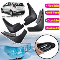 4pcs Mud Flaps For Ford Fiesta Mk7 2011-2019 Splash Guards Mudguards Front Rear