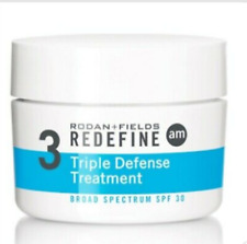 New edition Rodan+Fielfs REDEFINE Trpple Defence Treatment AM 30ml