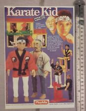 The Karate Kid Toy Advertisement