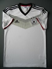 4/5 GERMANY TRAINING ORIGINAL SOCCER FOOTBALL SHIRT JERSEY ADIDAS