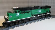 Lego Train Custom Burlington Northern ES44ac - PLEASE READ ITEM DESCRIPTION