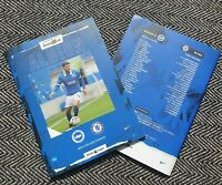 Brighton v Chelsea Matchday Programme 14/9/2020 READY TO POST!!!