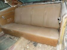 1970 1971 CYCLONE Rear Back Seat GINGER NICE GT SPOILER
