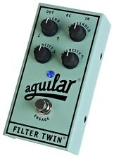 Aguilar Filter Twin Bass Filter Effect Pedal (Used) U.S. Authorized Dealer