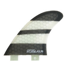 K-XLR8 Tri Surfboard fins compatible with FCS plugs NEW