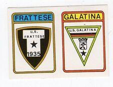 figurina CALCIATORI CALCIO FLASH 1985 SCUDETTO FRATTESE, GALATINA