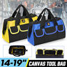 14'' -19''  Multi-function Heavy Duty Tool Bag Wide Mouth Waterproof