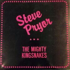 Steve Pryor & The Mighty Kingsnakes 1987 nibVinyl LPw/bonus OpLAST ONES!!!