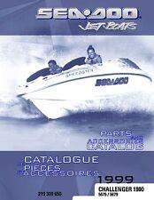 Sea-Doo Parts Manual Book 1999 CHALLENGER 1800 Models 5675 / 5679