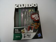 HASBRO Classic Cluedo GAMES TO GO Travel Board Game Play Anywhere