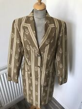 Laura Ashley Floral Fitted Coat size 14 chest 40