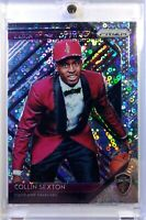 2018 Panini Luck of the Lottery Fast Break Prizm Collin Sexton Rookie RC #8