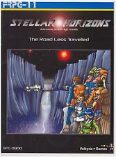FRPG - 11 Adventure on the High Frontier - The Road Less Traveled - Very Good+