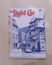 THE LIGHT CAR MAGAZINE 22 JUL 1938 - SINGERS FOR 1939, LEINSTER TROPHY, M.C.C.