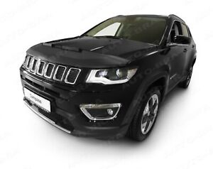 CAR HOOD BRA fit Jeep COMPASS since 2016 NOSE FRONT END MASK TUNING