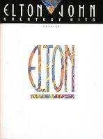 Elton John Greatest Hits Updated Sheet Music Easy Piano NEW 000222538