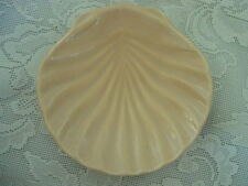 Collectible Lt. Peach Ceramic Shell Shaped Soap Dish