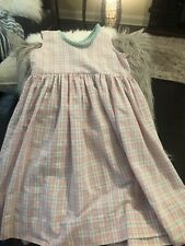 Kellys Kids Plaid Dress 6x Euc