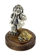 "Silver Statuette ""Jewish happiness"""