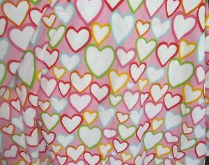Ikea Vitaminer Hjarta Pink Hearts Twin Duvet Cover Cotton