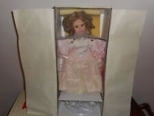 """Elite Dolls Collection """"Steffie"""" Hand-Crafted Porcelain Doll New in Box 71/3000"""