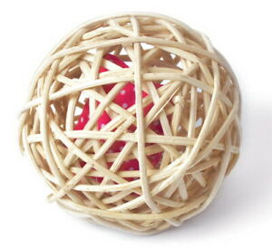 Aumüller Mini Baldi-Ball - 9cm - Ball mit Baldrian-Katzenspielkissen