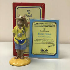 Royal Doulton Tourist Bunnykins DB 190 With Original Box And Certificate