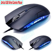 1600 DPI LED 6 Button Optical USB Wired Gaming Mouse for PC Laptop Computer 1.5M