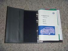 2008 Volkswagen VW Touareg Owner Operator Manual FSI TDI 3.6L 4.2L 5.0L Diesel