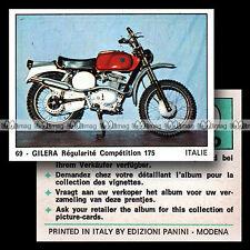 #pnm74.069 ★ GILERA 175 REGOLARITA COMPETIZIONE ★ 1970's Panini Moto 2000