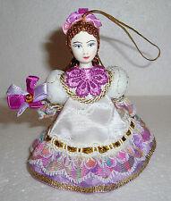 Beautiful Russian Doll ~ Christmas Ornament ~ NEW