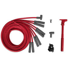 MSD Spark Plug Wire Set 31539; Super Conductor 8.5mm Red for Chrysler, Ford V8
