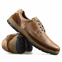 Mens Lace Up New Casual Boat Deck Mocassin Designer Loafers Driving Shoes Size