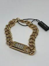 "Men's Yellow Stainless Steel Heavy Bracelet 8.5"" 13MM"
