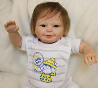 "20"" Reborn Baby Dolls Realistic Newborn Toddler Doll Accompany Kids Gifts Toy"