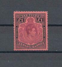 More details for leeward islands 1945 sg 114b mnh cat £45