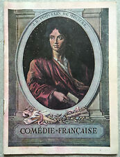 Programme COMEDIE FRANCAISE Paul Raynal LE MAITRE DE SON COEUR 1931