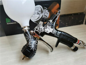 DeVilbiss TE20 GTI PRO Pistolet à peinture à alimentation par gravité en cuivre