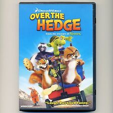 Over The Hedge 2006 PG family comedy animated movie DVD B Willis, Carell, Nolte