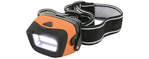2 Watt Led Headlight Head Torch Head lamp 3 Modes Tough & Lightweight